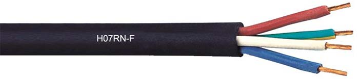 H07RN-F-Rubber-Industrial-Cable-450-750V